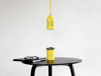 Recycling Lampe FIRELIGHT farbig