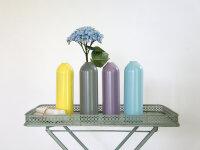 Recycling Kerzenhalter/Vase FIRE farbig