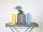 Kerzenhalter/Vase FIRE farbig