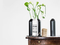 Upcycling Kerzenhalter/Vase FIRE neutral