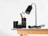 Upcycling Schreibtischlampe FIRELIGHT